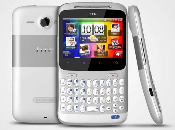 HTC ChaCha Facebook phone