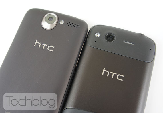 HTC Desire vs HTC Desire S