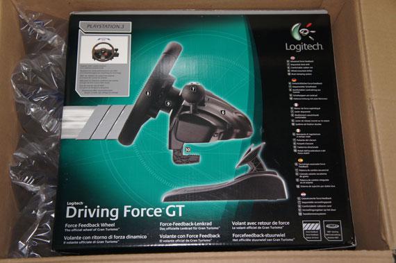 Logitech Driving Force GT Techblog