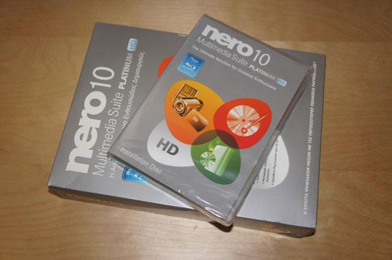 Nero 10 Multtimedia suite platinum hd xarizo