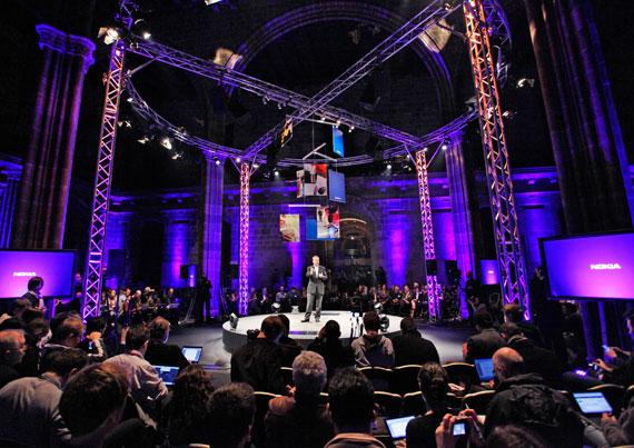 Nokia Stephen Elop MWC 2011 Barcelona