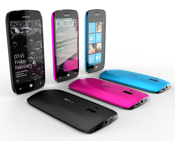 Nokia Windows Phone concept smartphones