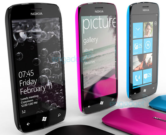 Nokia Windows Phone 7 smartphone