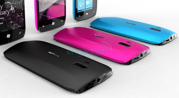Nokia Windows Phone 7 smartphone