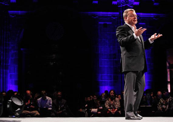 Stephen Elop Nokia MWC 2011