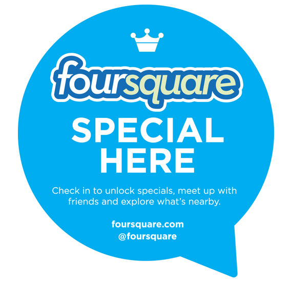 foursquare check-in