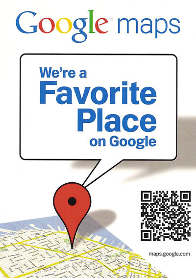 google maps check-in