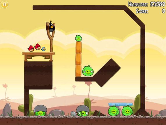 Angry Birds iPad 2