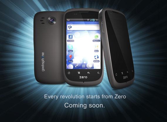 Geeksphone Zero Coming Soon