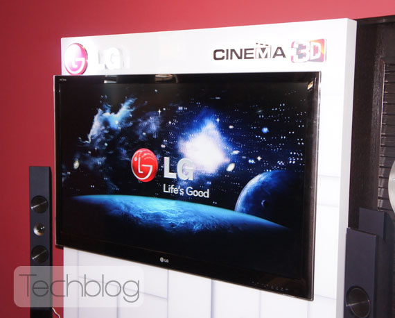 LG Cinema 3D TV