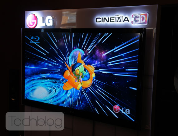 LG Cinema 3D TV