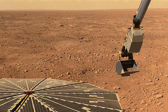 Mars sampling