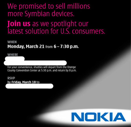 Nokia Invitation
