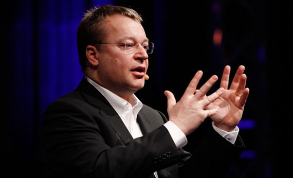 Stephen Elop Nokia CEO