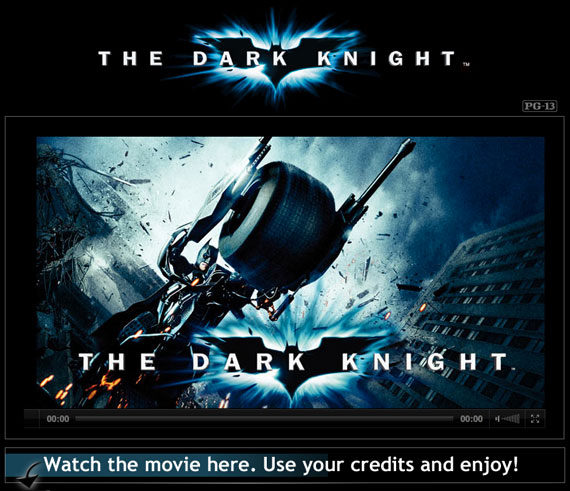 The Dark Knight rent Facebook