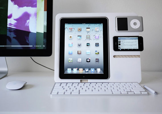 The iStand dock