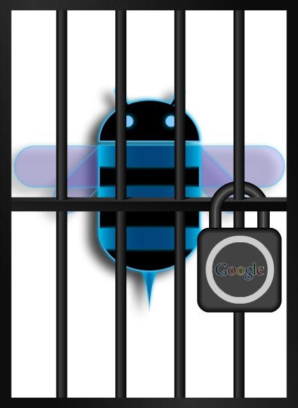 Android 3.0 Honeycomb locked