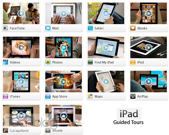 Apple iPad 2 Guided Tours