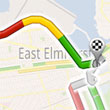 Google Maps Live Traffic logo