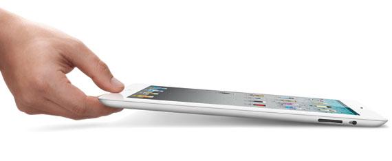 iPad 2 hand