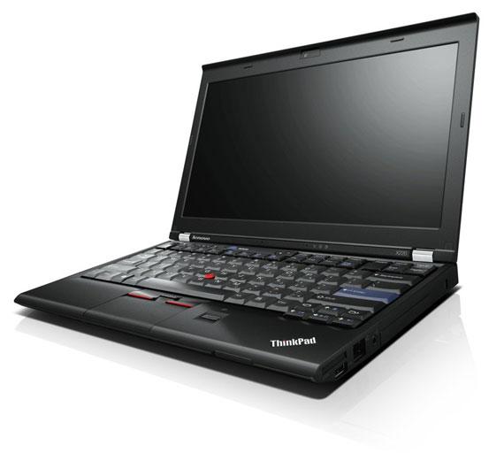 Lenovo X220 side