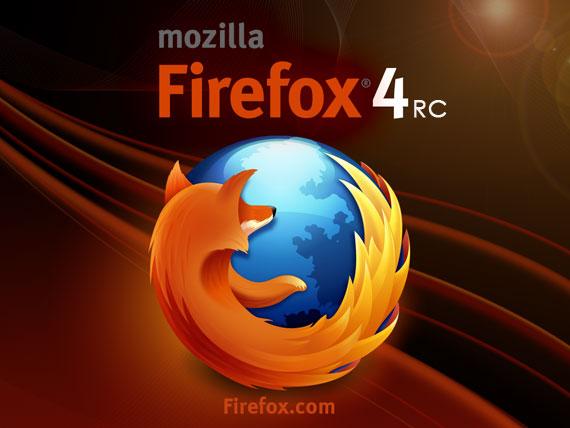 Mozilla Firefox 4 RC