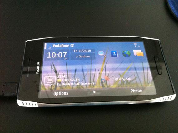Nokia X7 black