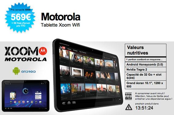 Motorola Xoom 32GB Wi-Fi