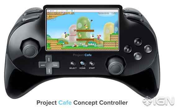 Nintendo Project Cafe gamepad