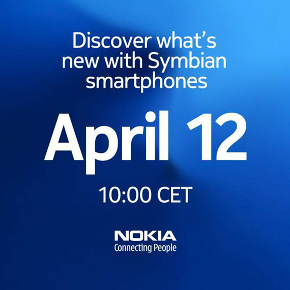 Nokia Event Save the date April 12th 2011