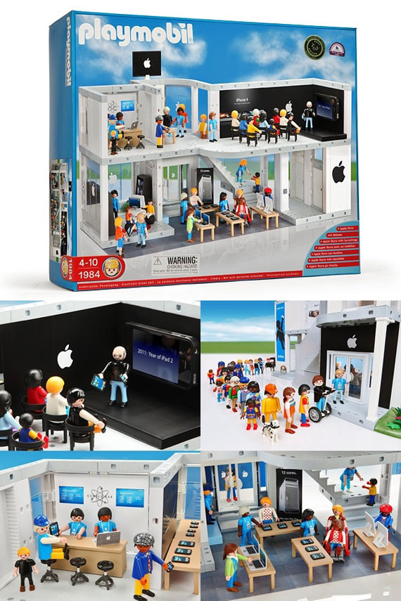 Playmobil Aplle Store Playset