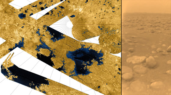 Titan lakes and Surface