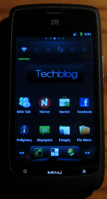 ZTE Blade Android 2.3.3