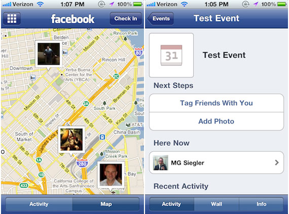Facebook New version 4.3