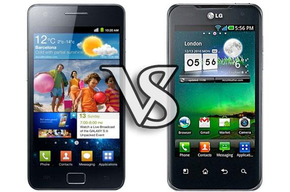 Samsung Galaxy S II vs Lg Optimus 2X