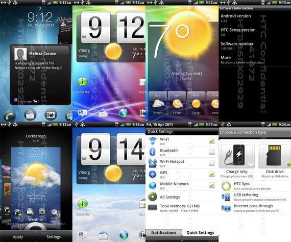 HTC Desire HD with sense 3