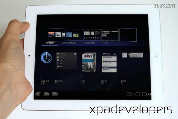 iPad 2 Honeycomb