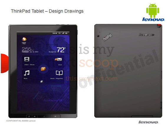 Lenovo X Slate ThinkPad Tablet