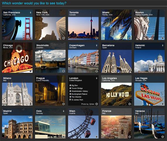Nokia Ovi Maps 3D cities