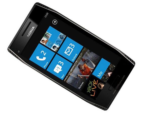 Nokia W7 Windows Phone 7