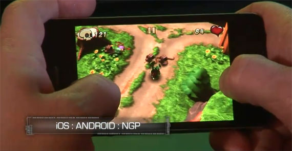 Unreal Engine 3 ios Android NGP
