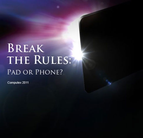 Asus multi-core 7-inch tablet