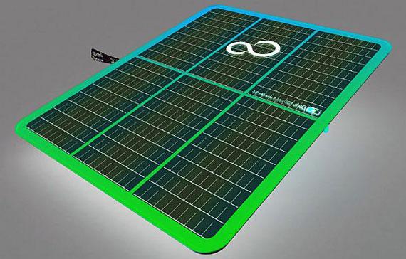 Fujitsu Lifebook leaf solar laptop