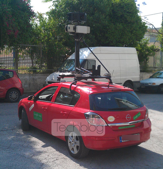 Google Street View Athens Opel Astra