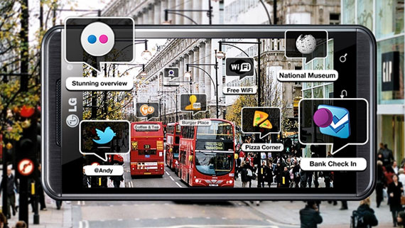 LG Optimus 3D Wikitube 3D AR