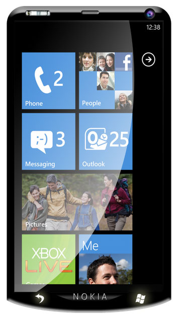 Nokia W10 Windows Phone 7.5