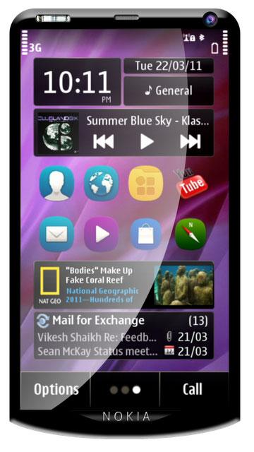 Nokia X10 Symbian Anna
