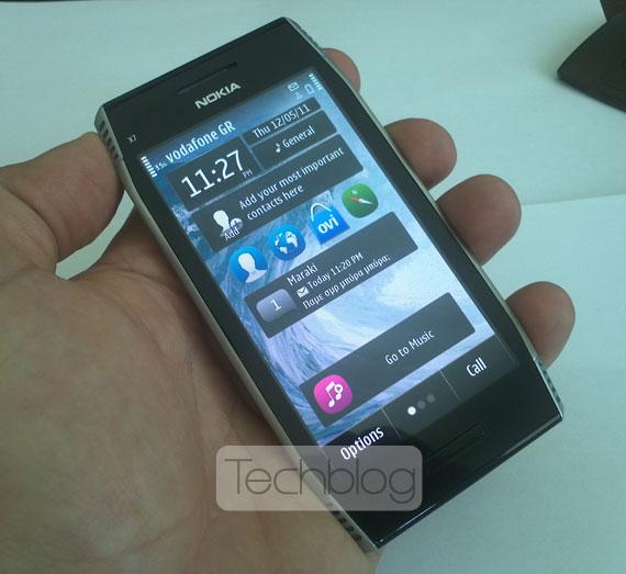 Nokia X7 Vodafone Techblog.gr
