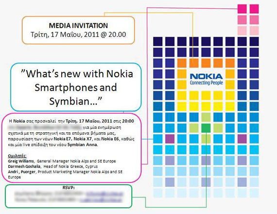 Nokia invitation symbian