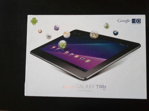 Samsung Galaxy Tab 10.1 white limited edition